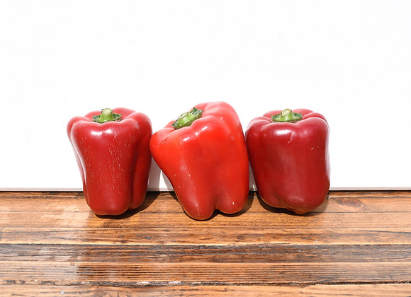 Organic Peppers Red 3