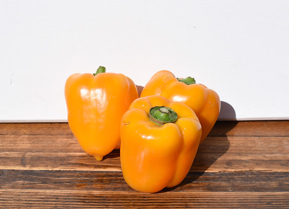 Organic Peppers Yellow 3