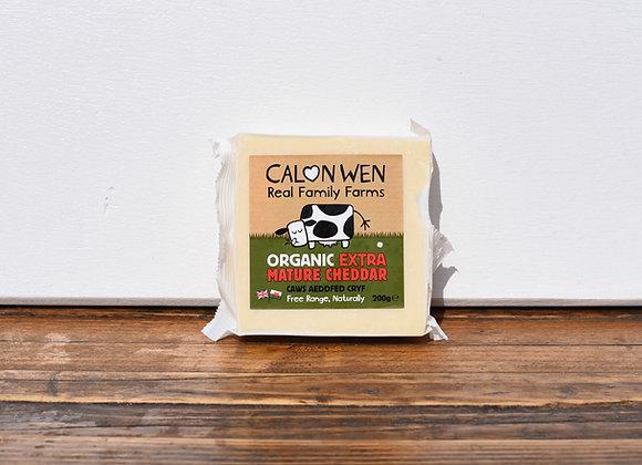 Organic Calon Wen Mature Cheddar 250g