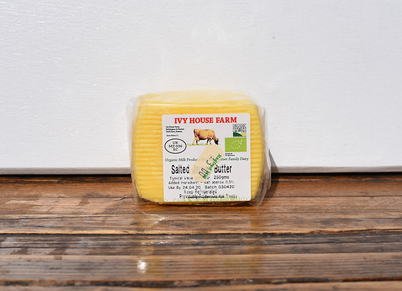 Organic Ivy House Farm Slightly Salted Butter