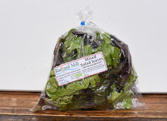 Organic Mixed Salad Bag 125g