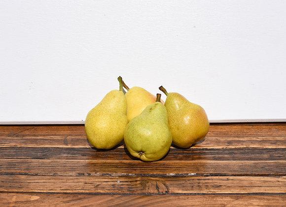 Organic Green Pears 4