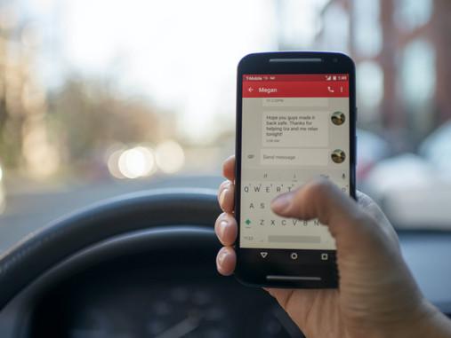 Téléphone au volant,  les risques ?
