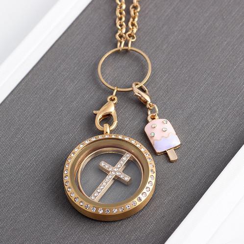 Popsicle ice cream charm pendant for floating locket bracelet weight 15g aloadofball Choice Image