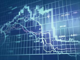 Stocks et écran de négociation