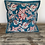 Thumbnail: Turquoise and Red Dance Cushion Cover