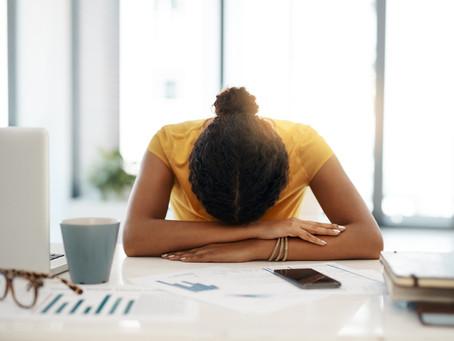 """¿Demasiado cansado? Podría ser """"burnout"""""""