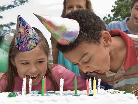 3 razones por las que las fiestas de cumpleaños pueden ser problemáticas para algunos niños