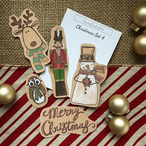 Christmas Stickers Set 4