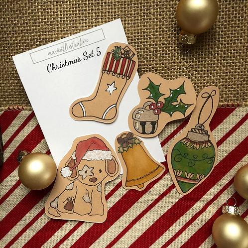 Christmas Stickers Set 5