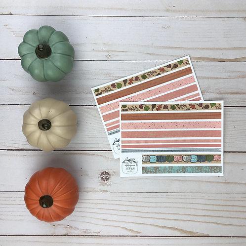 Fall Sweet Fall Washi Sticker Sheet