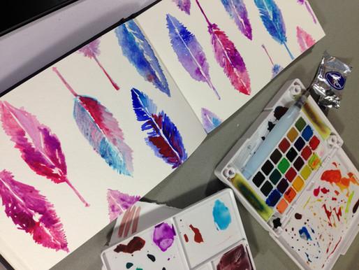 watercolor journaling