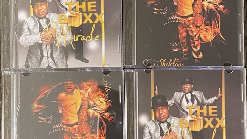 Autographed CD (collection )
