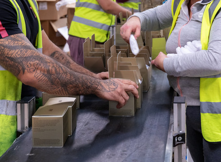 Working At Orean: A day in the life of our Factory Warehouse Team