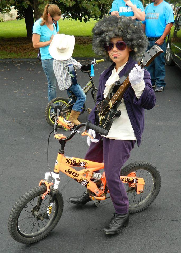 Prince at Kiddie Parade