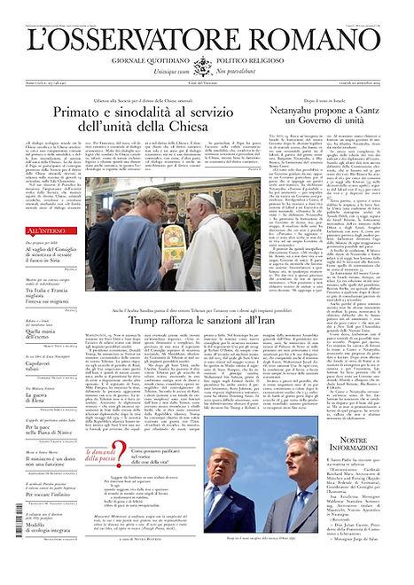 SLEC- L Osservatore Romano 20-9-2019-pag