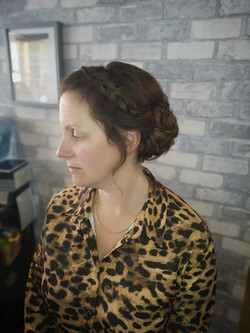 Ball Hair Up by Jess