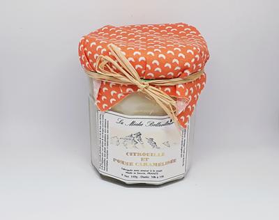 Citrouille et Pomme Caramélisée