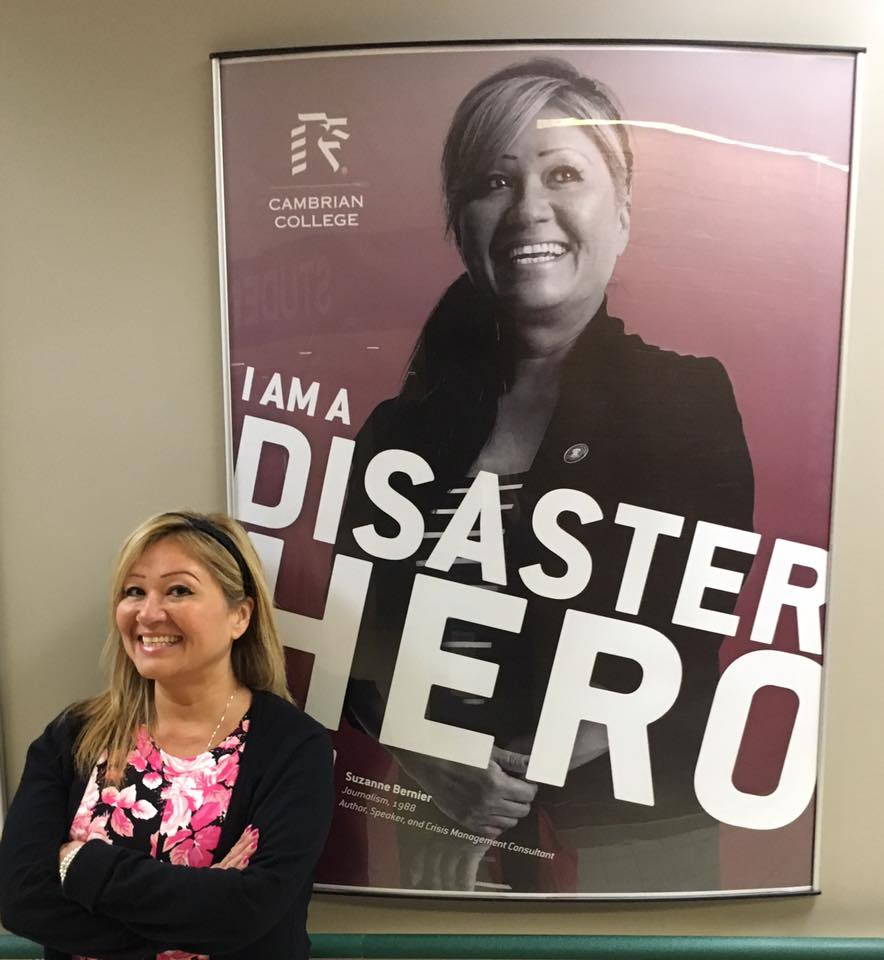 Disaster Hero Cambrian College March 2016