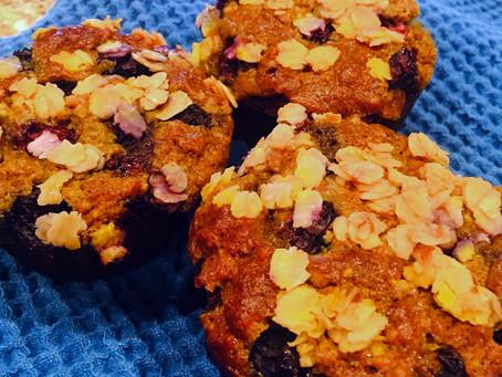 Golden Sunrise Muffins
