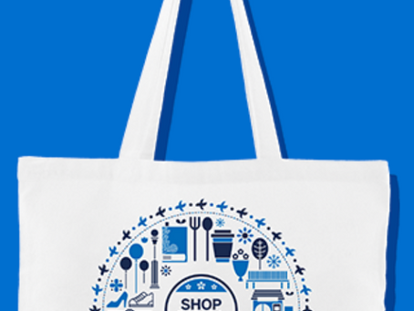 AMEX、JCB、QUICPayで¥1,000以上のお買い上げで抗菌トートバッグをプレゼント!