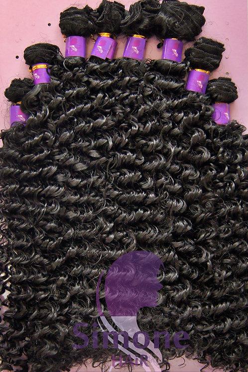 476 - Cabelo Orgânico Samba Curly - Preto