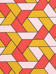 Géométrique Jaune