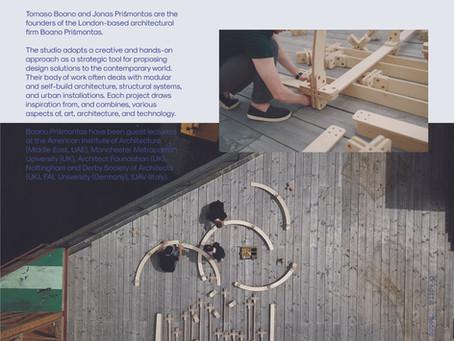 """""""Modular & Adaptive Design"""", our talk at Bilkent University"""