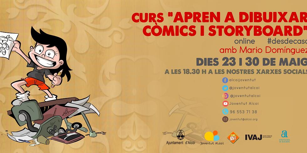 "CURS ""APREN A DIBUIXAR CÒMIC I STORYBOARD"""