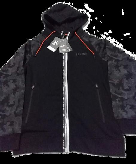 Sudadera abierta con capucha