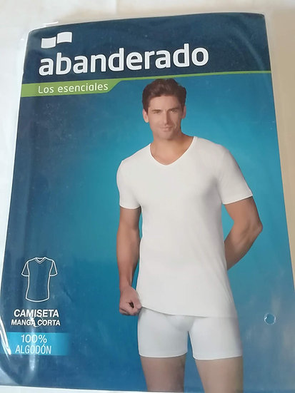 Camiseta Interior Pico Abanderado