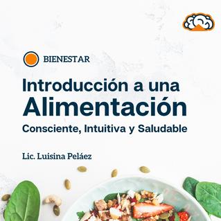 Alimentación. Luciana Peláez