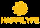 happilyfe logo with slogan