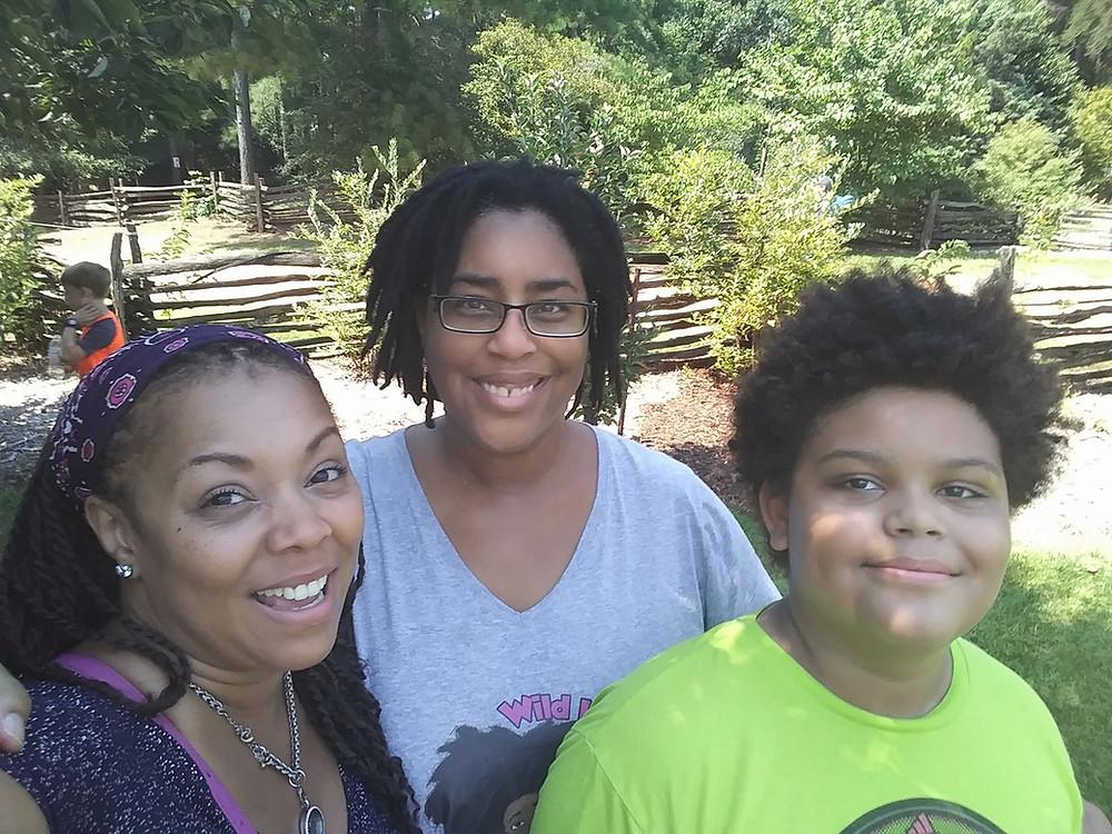 Family Eclipse 2017 Roper Mountain