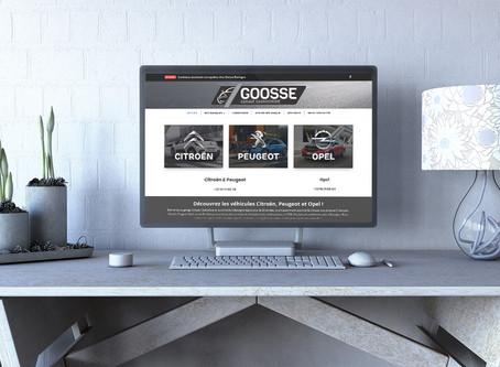 Création du site du garage Goosse à Bastogne