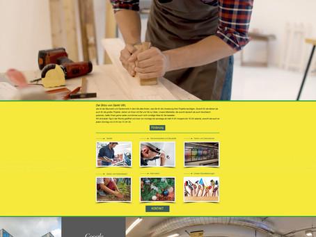 Création du nouveau site internet du Brico de Saint-Vith