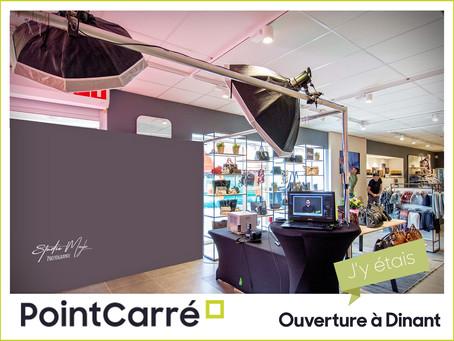 """Stand """"Animation Photos"""" lors de l'ouverture du nouveau PointCarré à Dinant"""