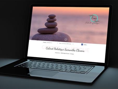 Création du site du Cabinet Holistique