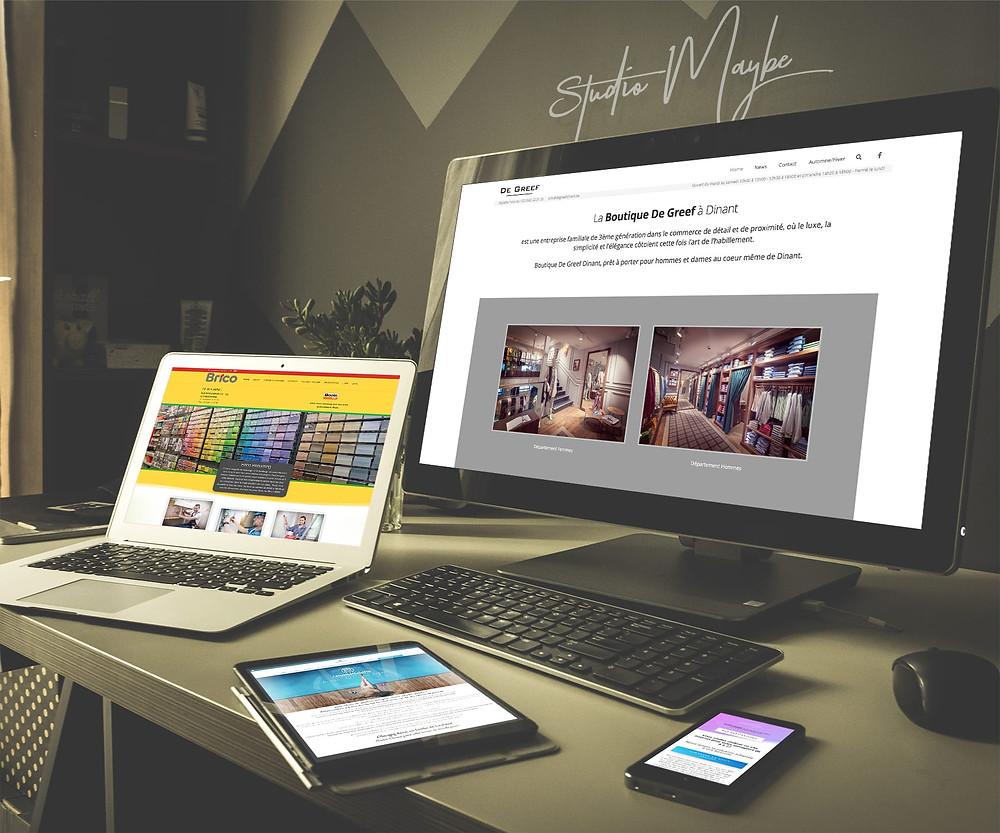 Création de votre site internet by Studio Maybe