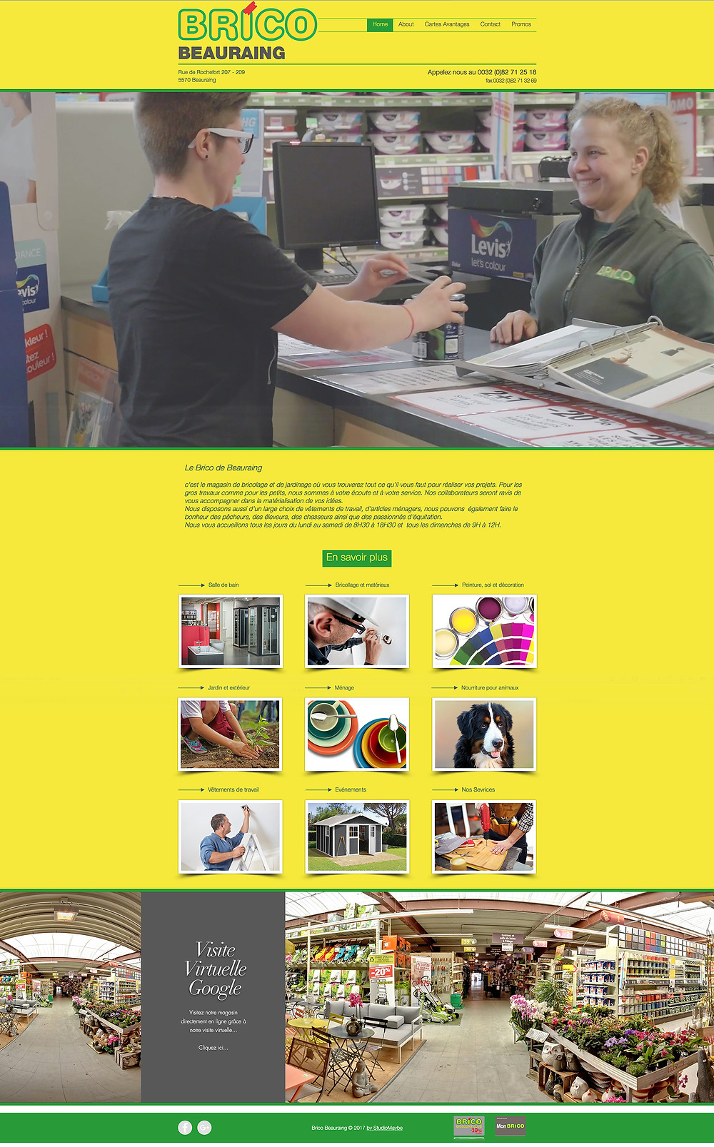 Site Brico Beauraing by StudioMaybe