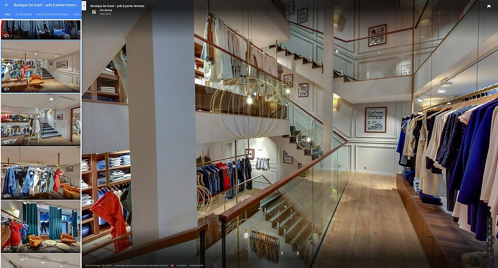 Visite Virtuelle de la boutique De Greef à Dinant by Studio Maybe