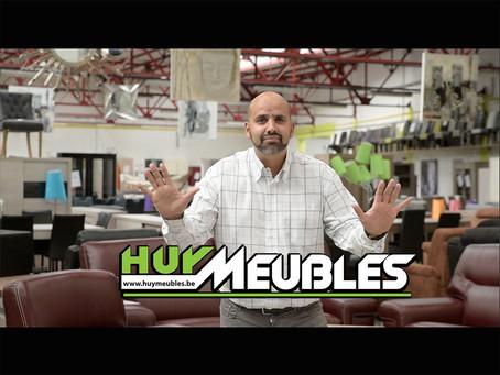 Réalisation des 2 Vidéos Publicitaires pour Huy Meubles, diffusées sur la RTBF pour les Soldes été 2