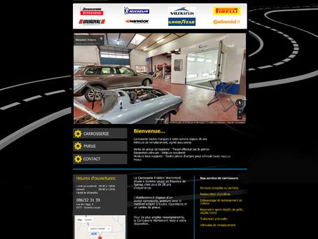 Création du site