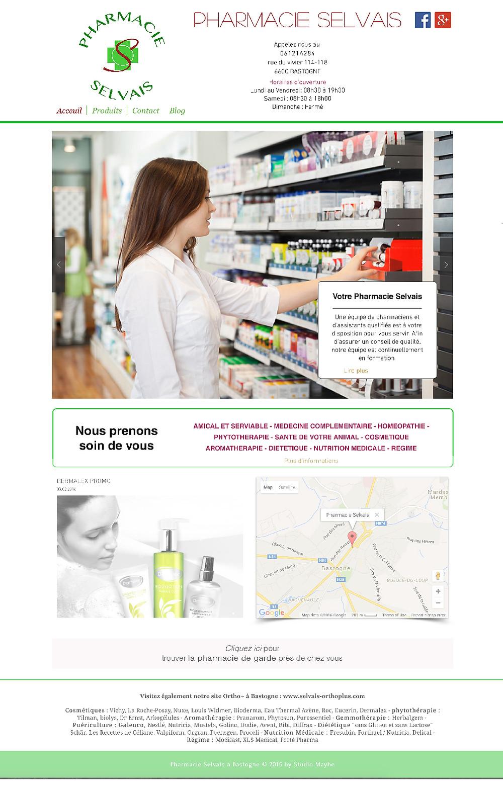 Pharmacie Selvais à Bastogne
