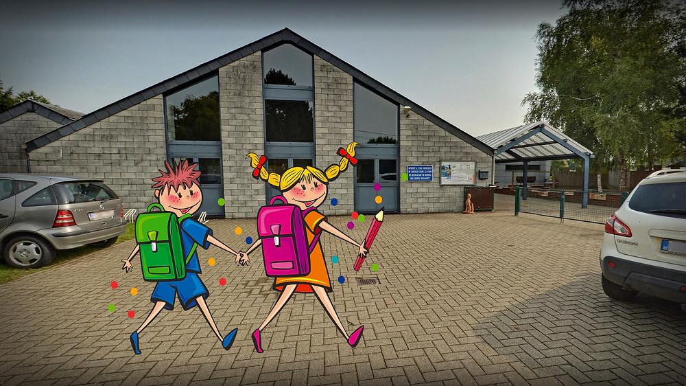 Visite virtuelle Google école de Bonsin by Studio Maybe