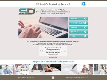 Création du nouveau site internet SD-Admin - Somme-Leuze