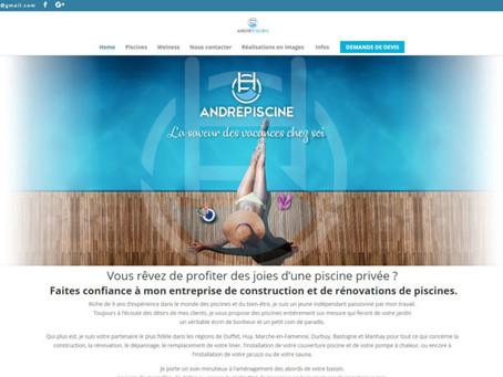 Création du site André Piscine