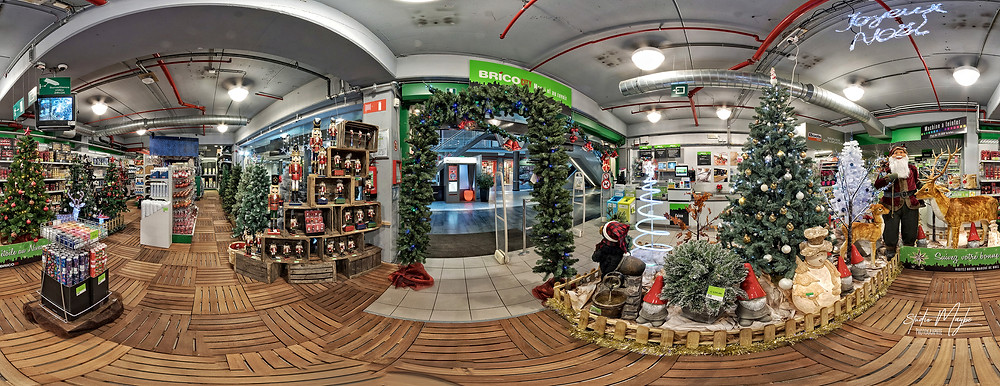 Visite Virtuelle Google Brico City marché de Noël by Studio Maybe