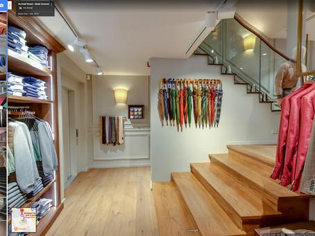 Création de la visite virtuelle google street view Boutique De Greef Dinant - Reportage by Studio Ma