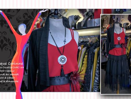 Reportage Photos pour la boutique Corinne à Namur